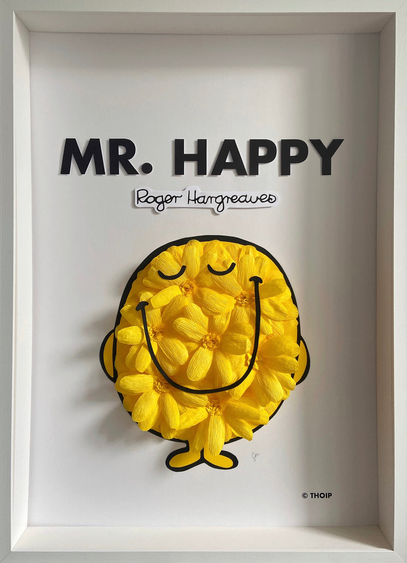 MR. HAPPY PAPER FLOWER ART