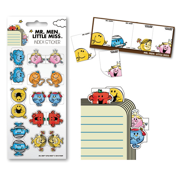 LARGE STICKY MEMO PAD + STICKERS
