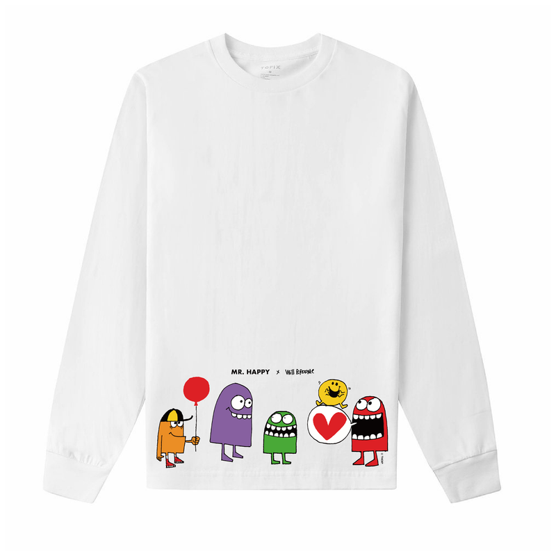 MONSTERS ADULTS' SHORT + LONG SLEEVE T-SHIRT