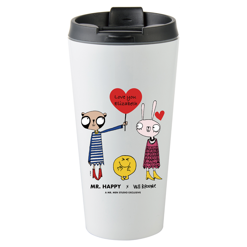 MR. HAPPY x WILL BROOME PERSONALISED LOVE ITEMS
