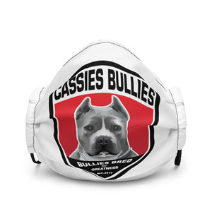 Open image in slideshow, Cassies Bullies Face Mask