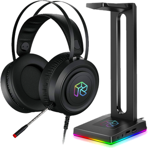 Headset with RGB Stand