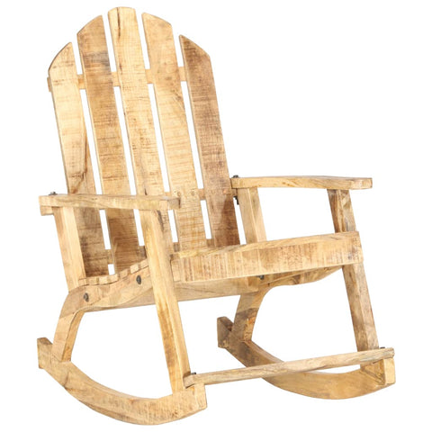 Garden Rocking Chair Solid Mango Wood