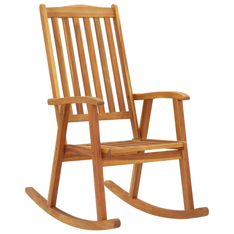 Rocking Chair Solid Acacia Wood