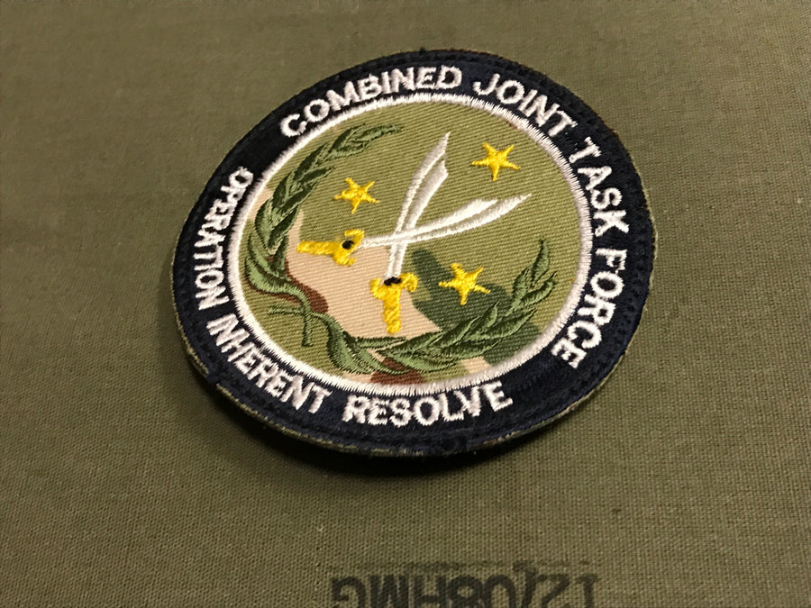 OPERATION INHERENT RESOLVE PATCH
