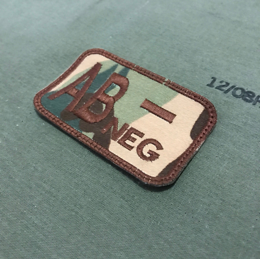 BLOOD TYPE MULTICAM PATCH
