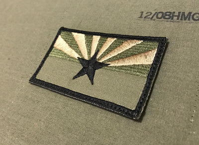 ARIZONA GREEN BANDOLIER PATCH