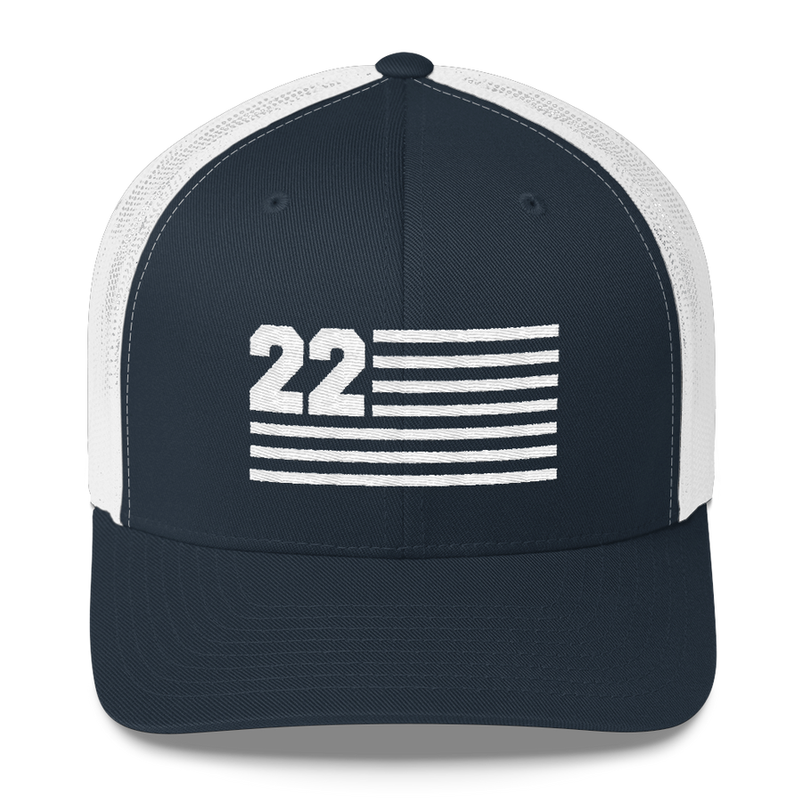 22 VETERANS TRUCKER HAT