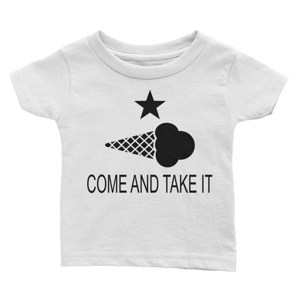 COME AND TAKE THIS ICE CREAM INFANT TEE
