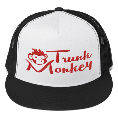 TRUCK MONKEY TRUCKER HAT