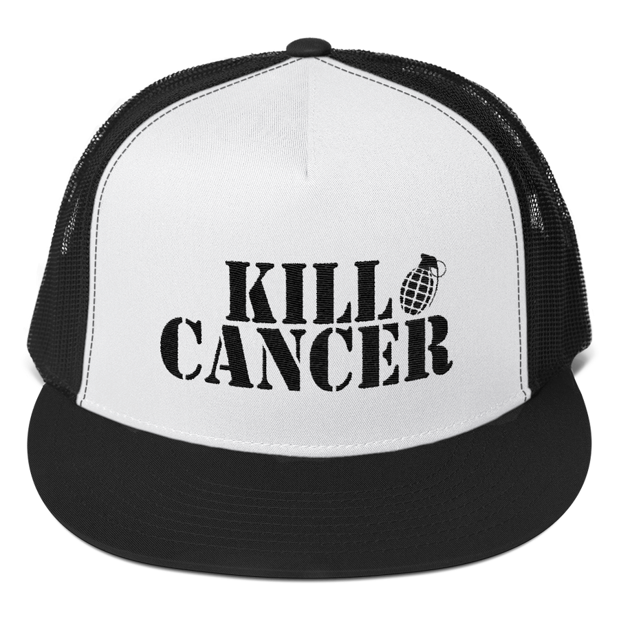 MELANOMA CANCER AWARENESS TRUCKER HAT