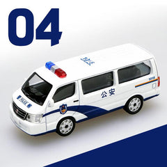 1/64 XCarToys 04 Public Security Jinbei Hiace