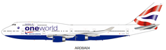 (Pre-Order) 1/200 ARD200 British Airways Boeing 747-400 G-CIVP with stand and collectors coin