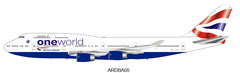 (Pre-Order) 1/200 ARD200 British Airways Boeing 747-400 G-CIVF with stand and collectors coin