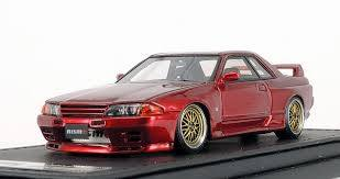 1/43 ignition model - IG0924 Nismo R32 GT-R S-Tune Red