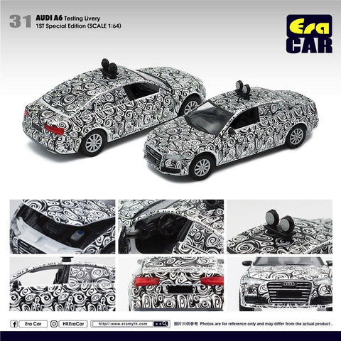 1/64 Era Car 31 Audi A6 Testing Livery (1st Special Edition)