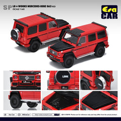 1/64 Era Car SP29 LB Works Mercedes-Benz G63 Red