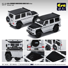 1/64 Era Car SP27 LB Works Mercedes-Benz G63 White