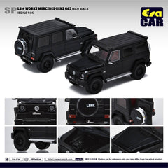 1/64 Era Car SP28 LB Works Mercedes-Benz G63 Matte Black