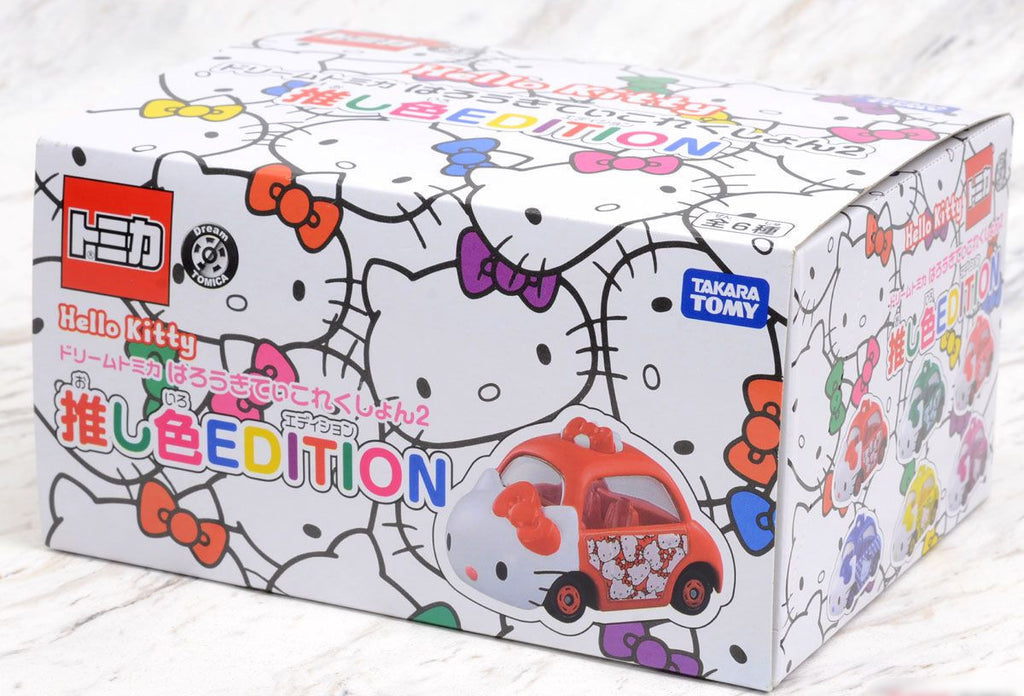 TAKARA TOMY  Dream Tomica HELLO KITTY Collection 2 Set of 6