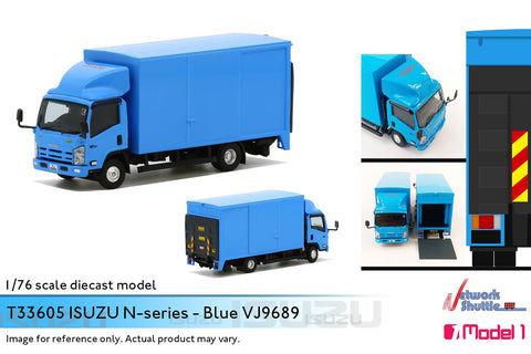 1/76 Isuzu N-Series Blue - VJ9689