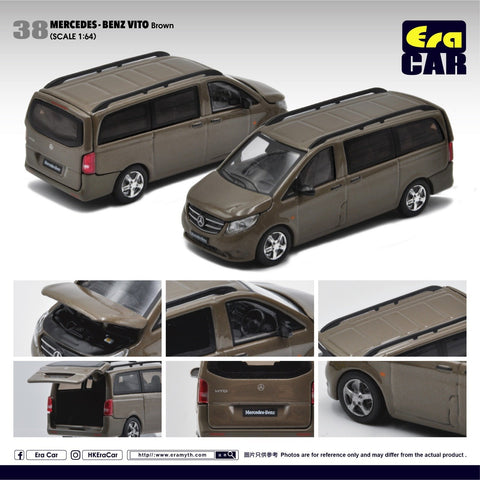 1/64 Era Car 38 Mercedes-Benz Vito Brown