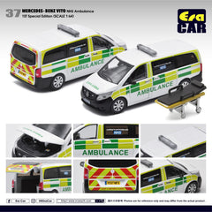 (Pre-Order) 1/64 Era Car 37 Mercedes-Benz Vito NHS Ambulance (1st Special Edition)