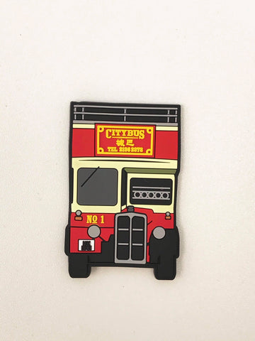 Citybus 40th Anniversary Bus Shaped Magnet 1