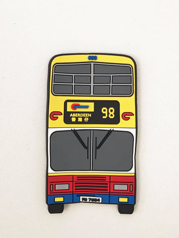 Citybus 40th Anniversary Bus Shaped Magnet 633