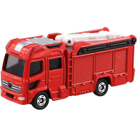 TAKARA TOMY - Tomica No.119 Morita Multi-Purpose Fire Fighting Vehicle with 13M Aerial Platform MVF