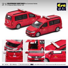 (Pre-Order) 1/64 Era Car 21 Volkswagen Caddy Maxi Fire Command Vehicle (1st Special Edition)