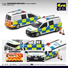 (Pre-Order) 1/64 Era Car 18 Volkswagen Caddy Maxi HK Police (AM8409)