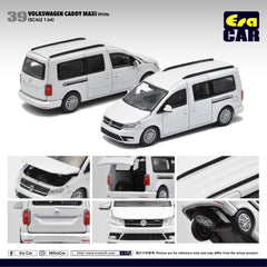 (Pre-Order) 1/64 Era Car 39 Volkswagen Caddy Maxi White