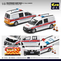 (Pre-Order) 1/64 Era Car 18 Volkswagen Caddy Maxi HK Police (AM8403) (1st Special Edition)