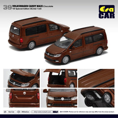 (Pre-Order) 1/64 Era Car 39 Volkswagen Caddy Maxi Chocolate (1st Special Edition)