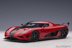 (Pre-Order) 1/18 AUTOART 79022 Koenigsegg Agera RS (Chilli Red/ Carbon with Black Accents)