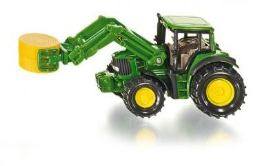 Siku 1379 Tractor with haybale grabber