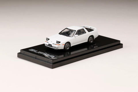 (Pre-Order) 1/64 Hobby Japan HJ641026CW Toyota Supra (A70) 2.5GT Twin Turbo Customize Version Super White IV