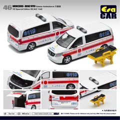 1/64 Era Car 46 Mercedes-Benz Vito Taiwan Ambulance 天喜號