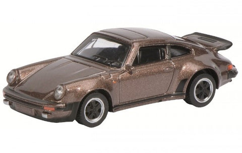 1:64 Schuco 20101 Porsche 911 Turbo 3.0 Brown-Metallic
