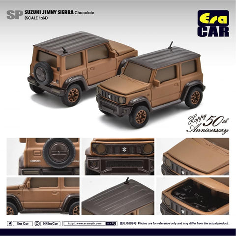 1/64 Era Car SP37 Suzuki Jimny Sierra Chocolate Happy 50th Anniversary