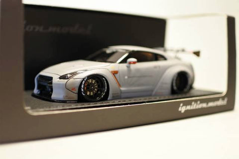 1/43 ignition model - IG0786 LB-WORKS GT-R(R35) Matte Grey