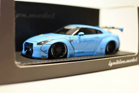 1/43 ignition model - IG0783 LB-WORKS GT-R(R35) Light Blue