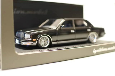 1/43 Ignition Model IG0695 Toyota Century (GZG50) Black (Silver Rims)