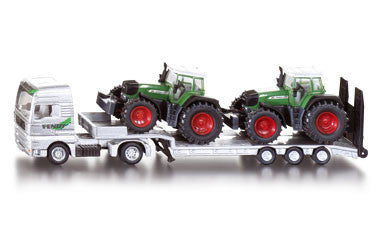 Siku 1840 1/87 Low Loader with Fendt Tractors