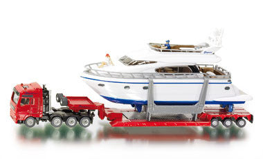 Siku 1849 1/87 Heavy Haulage Transporter with Yacht