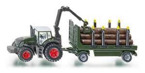 Siku 1861 1/87 Fendt with Forestry Trailer