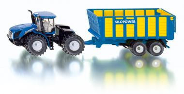 Siku 1947 1/50 New Holland with silage trailer