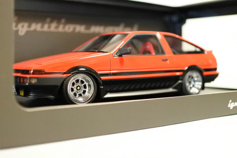 1/18 ignition model - IG0537 Toyota AE86 Sprinter Trueno 3Dr GT Apex Red