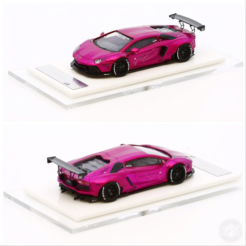 1/64 Liberty Walk LB Performance Aventador LB700 (Shocking Pink)
